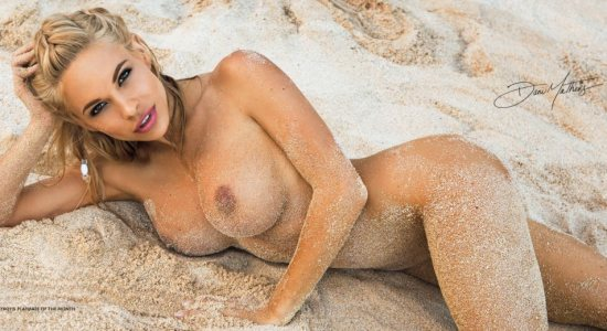 Dani Mathers nude in the sands
