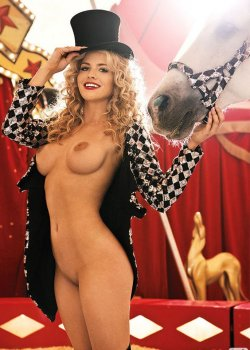 Carly Lauren nude at the circus