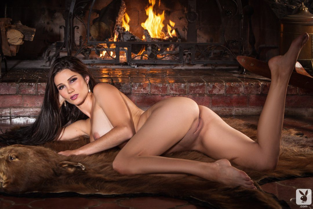 Playboy Cybergirl Erika Knight warms you up on a cold day | Playboy ...