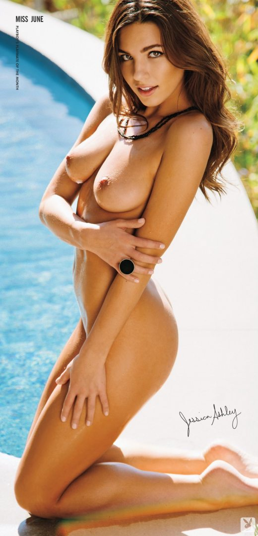Jessica Ashley nude – Miss Playboy Playmate for June 2014