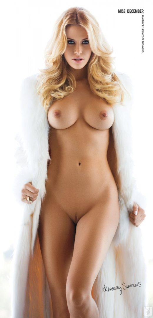 Playboy Miss Playmate December Kennedy Summers Nude
