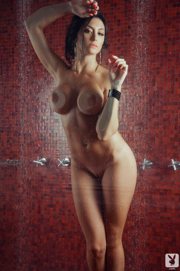 Shower Playboy Nude