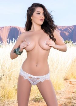 Marlee May busty brunette