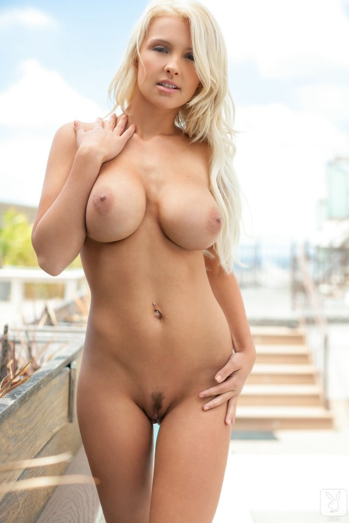 Sey Blonde Playboy Nude