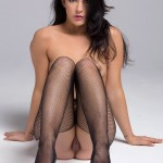 Alessandra Iltis Fishnet Stockings